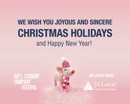 Merry holidays and a happy New Year!